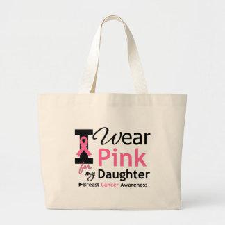 Eu visto o rosa para minha filha bolsa para compras