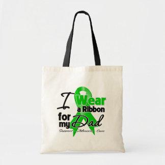Eu visto uma fita verde para meu pai bolsa