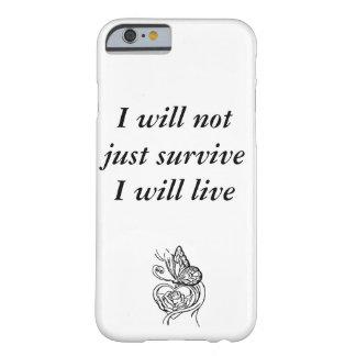 Eu viverei capas de iphone