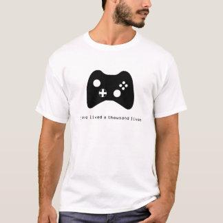 Eu vivi mil vidas - jogo camiseta