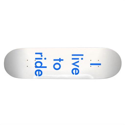 Eu vivo para montar skate personalizado