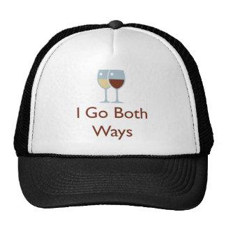 Eu vou ambas as maneiras boné