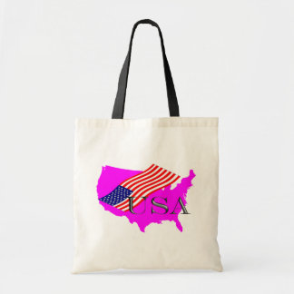 EUA 8+Estrelas+Tira Bolsas De Lona