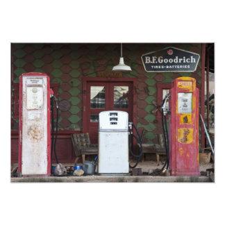 EUA, arizona. Cidade fantasma do cloreto, gás velh Impressão De Foto
