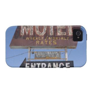EUA, arizona, Winslow, sinal antiquado do motel Capas Para iPhone 4/4S