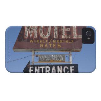 EUA, arizona, Winslow, sinal antiquado do motel Capinhas iPhone 4