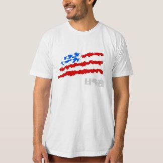 EUA - bandeira americana T-shirt