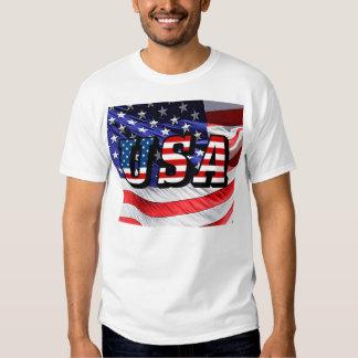 EUA - Bandeira americana Tshirts