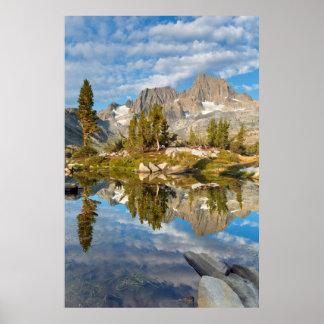 EUA, Califórnia, floresta nacional 12 de Inyo Poster