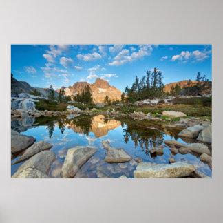 EUA, Califórnia, floresta nacional de Inyo. 2 Poster