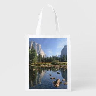 EUA, Califórnia, parque nacional de Yosemite, 5 Sacolas Ecológicas Para Supermercado