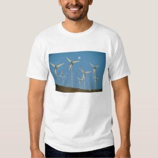 EUA, Califórnia, passagem de Altamont, geradores T-shirt