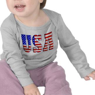 EUA com BANDEIRA AMERICANA T-shirts