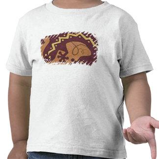 EUA, New mexico, Santa Fé. Seção do Fim-acima de T-shirt