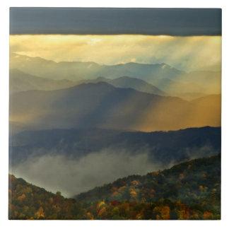 EUA, North Carolina, montanhas de grande