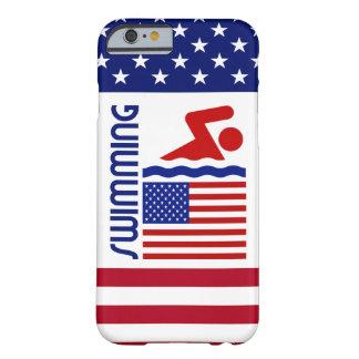 EUA que nadam Capa Barely There Para iPhone 6