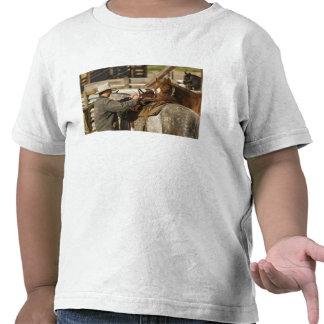 EUA, Washington, Malaga, vaqueiro que prepara-se Camisetas