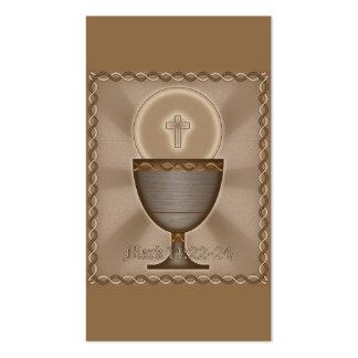 Eucaristia Cartao De Visita