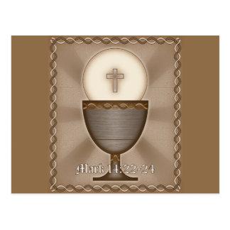 Eucaristia Cartão Postal