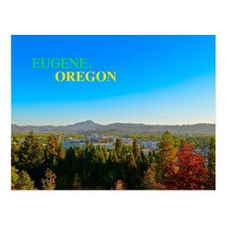 Eugene bonito, cartão panorâmico de Oregon!