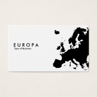 EUROPA CARTÃO DE VISITAS