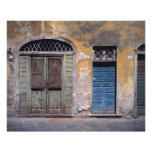 Europa, Italia, Lucca. Estas portas velhas adicion Artes De Fotos