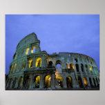 Europa, Italia, Roma. Opinião da noite do Posteres
