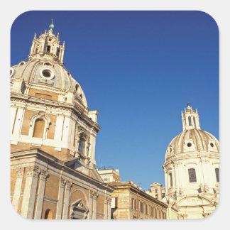 Europa, Italia, Roma. Santa Maria Di Lorento e Adesivo Quadrado
