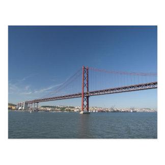Europa, Portugal, Lisboa aka Lisboa). Ponte Cartão Postal