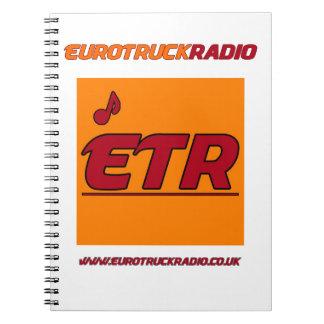 EuroTruckRadio - caderno