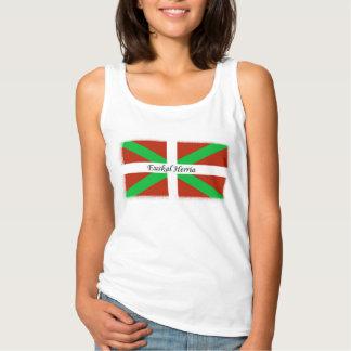 Euskal Herria na camisa Basque da bandeira