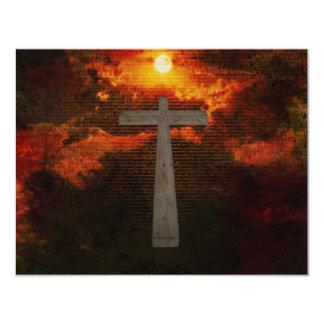 Evangelho Convite 10.79 X 13.97cm