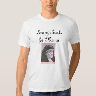 Evangelicals para Obama T-shirt