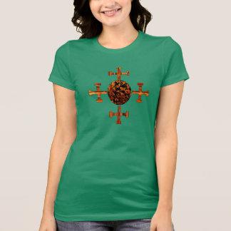 Evangélico-Mottled Camisetas