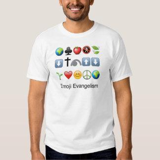 Evangelismo de Emoji Camisetas