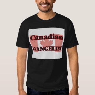 Evangelista canadense t-shirt