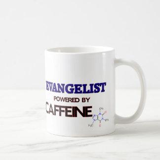 Evangelista psto pela cafeína caneca