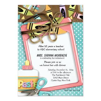 Evento da escola convites personalizados