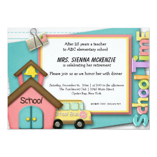 Evento da escola convites