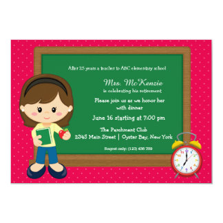 Evento da escola * escolha a cor do fundo convite 12.7 x 17.78cm