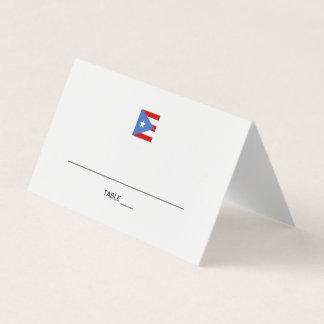 Evento de Puerto Rico Cartão De Mesa