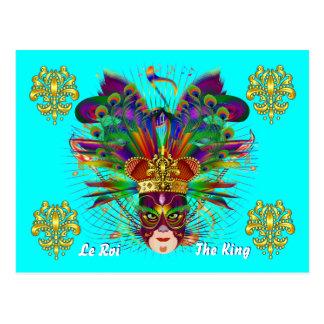 Evento do carnaval do carnaval cartão postal