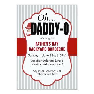 Evento do dia dos pais do Pai-o Convite 12.7 X 17.78cm