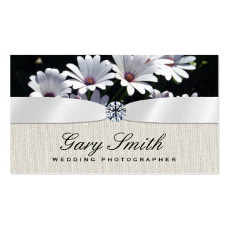 Eventos do casamento cartão de visita