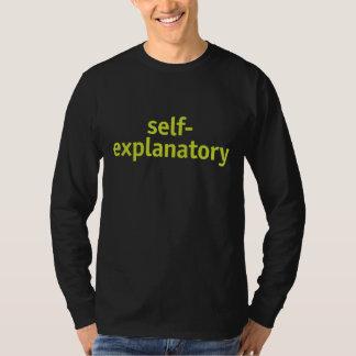 Evidente Camiseta