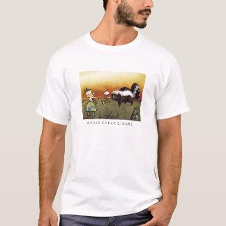 Evite charutos baratos camiseta