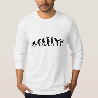 Evolução Capoeira Camisetas