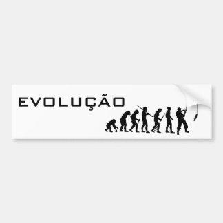 EVOLUÇÃO DA PESCA ADESIVO PARA CARRO