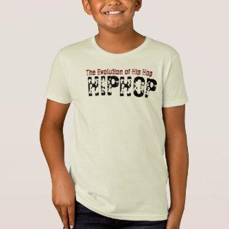 Evolução de Hip Hop Camiseta