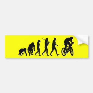 Evolução do autocolante no vidro traseiro biking d adesivo
